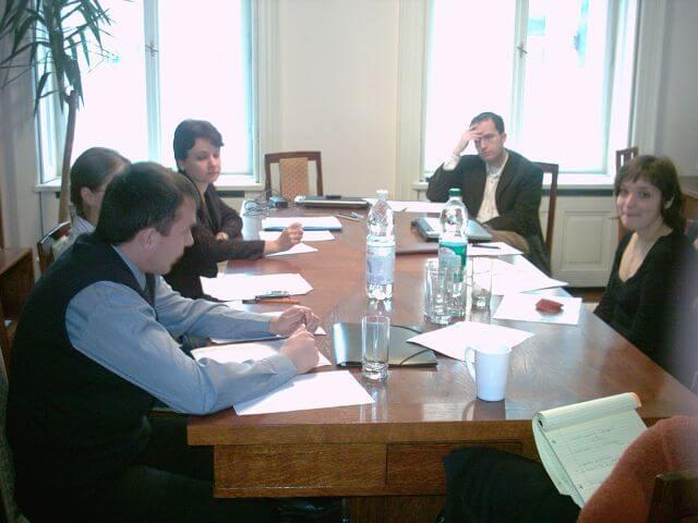 Fellows Seminar at the Center