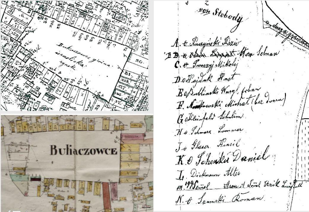 Дослідження історичного ландшафту Галичини: кадастрові карти, реєстри власників, шкіл і виборців