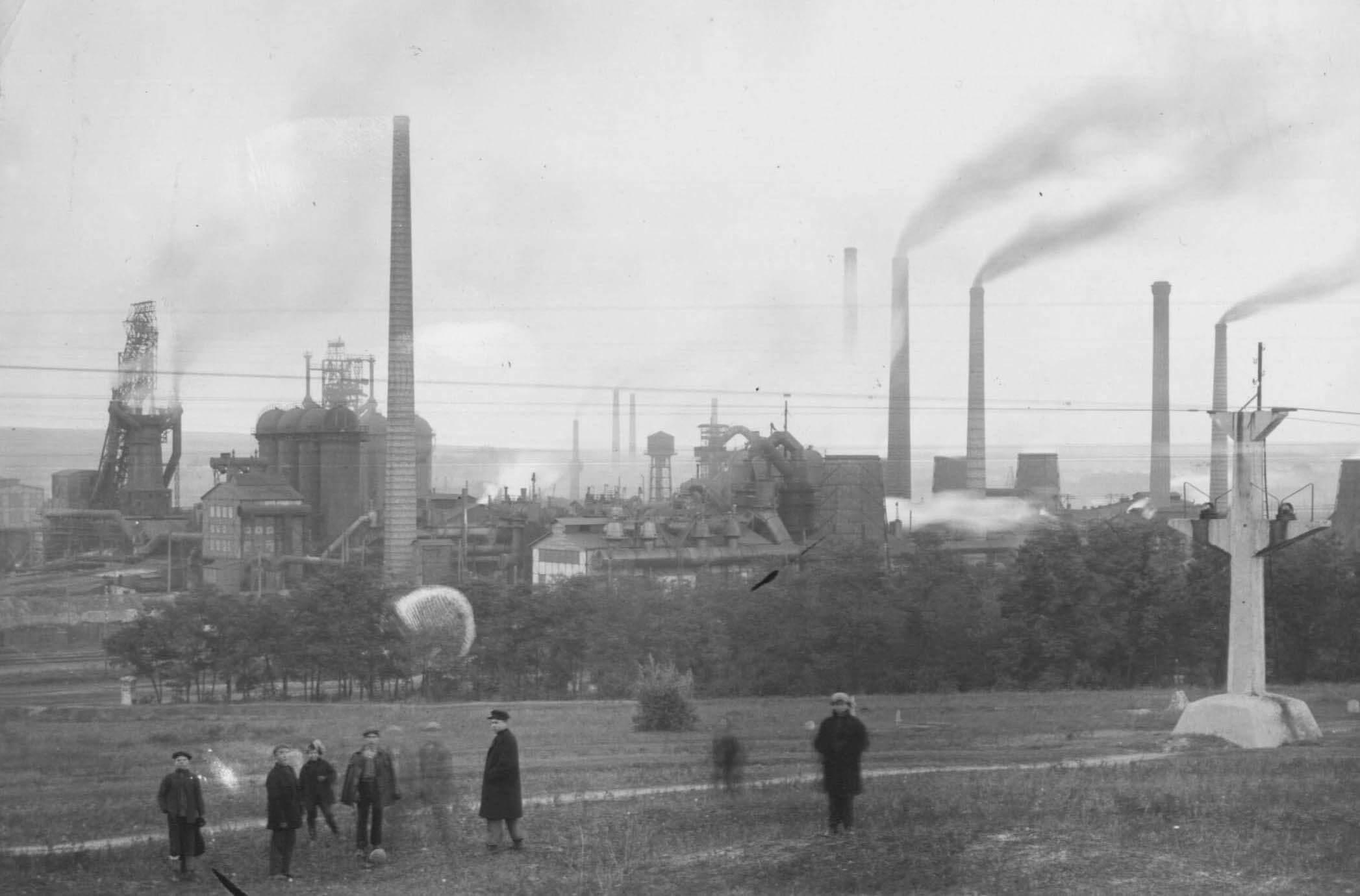 Індустріалізація та міський ландшафт Промислового Півдня Російської імперії