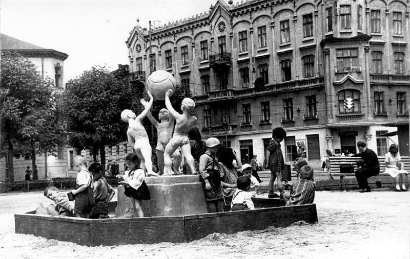 Львів 1944-1953 рр. Життя буденне