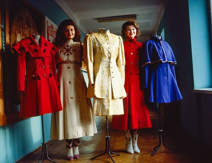 Street Style in Ukraine in the late 1980s – early 1990s: From Ban to Dream
