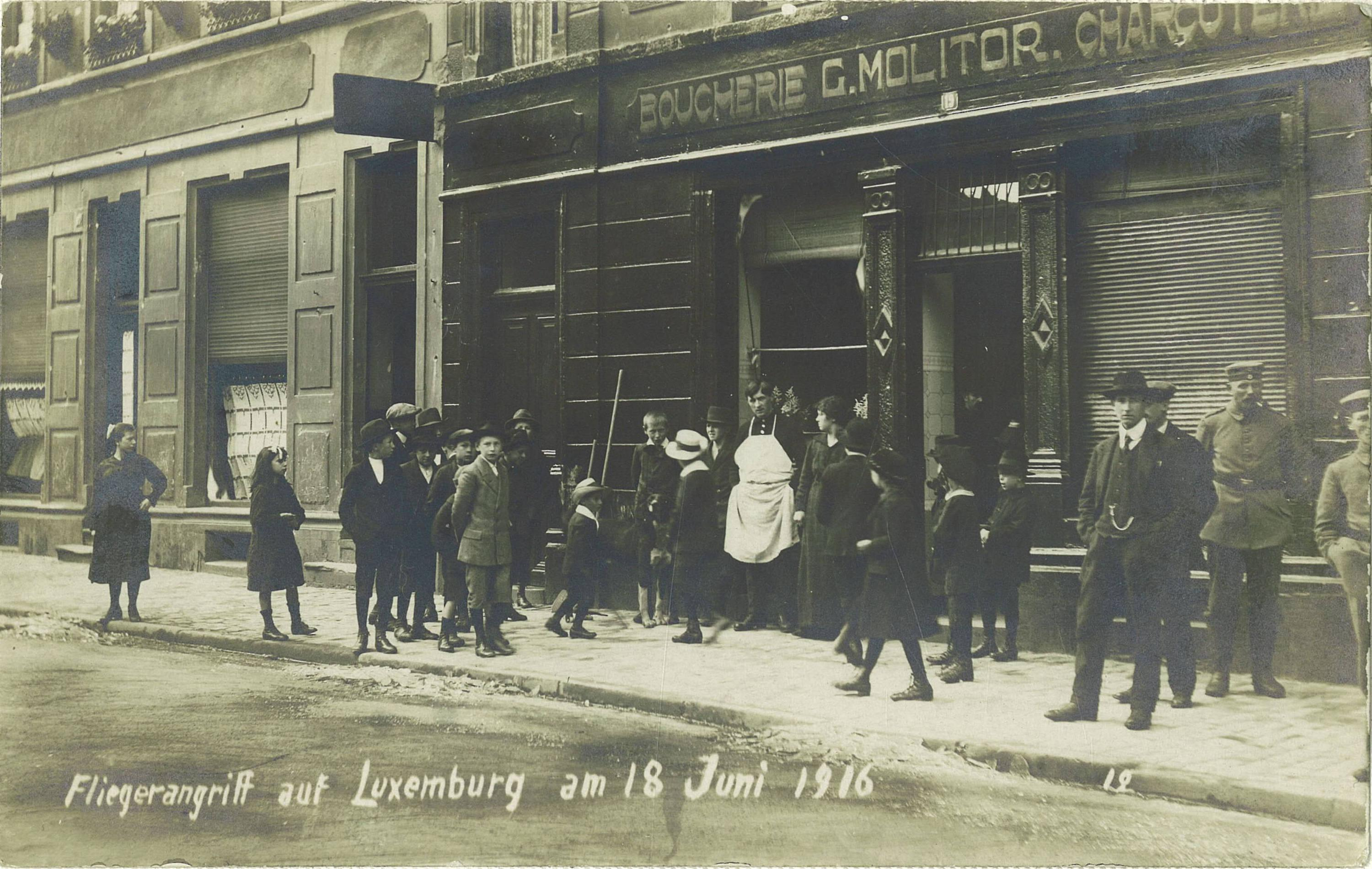 Remembering the Great War in Luxembourg: Engaging Multiple Audiences Through Public History Digital Projects