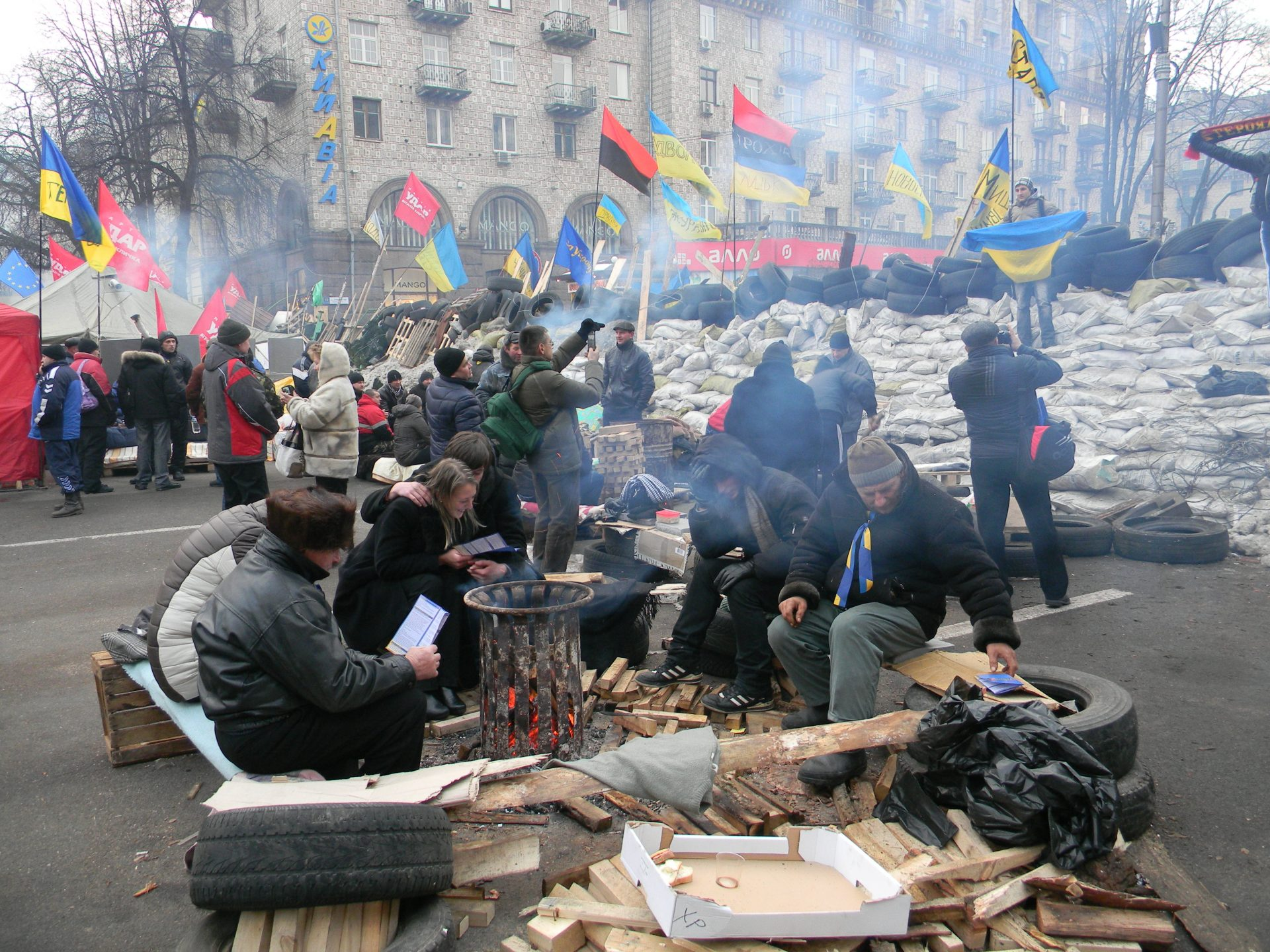 Intimate Chronologies of the Euromaidan: Interview Analysis and Organisation