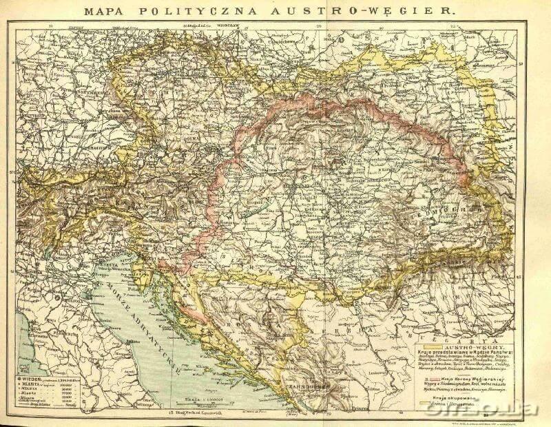 Національність та мова в Австро-Угорській імперії. Нормативно-правова база, політична реальність і програми реформ