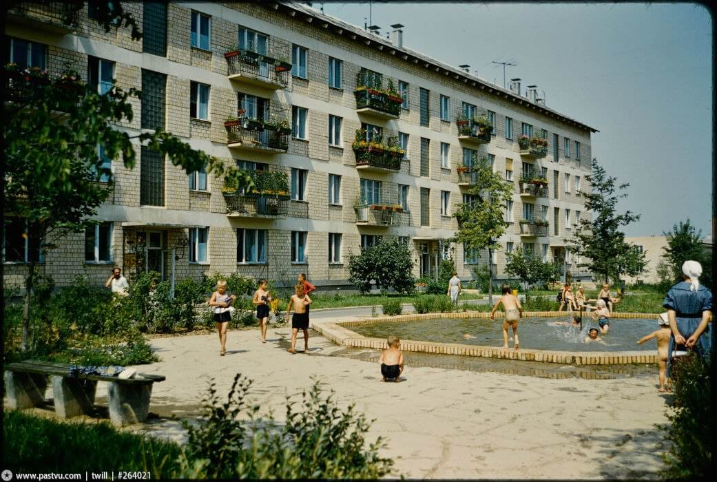 Green Zones: Soviet Architecture and Urban Planning in Search of Ideal Living Environment