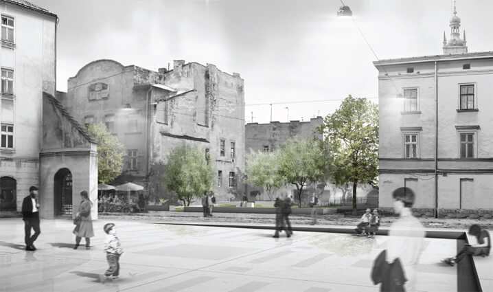 Projects Submitted for the International Design Competition for the Sites of Jewish History in Lviv