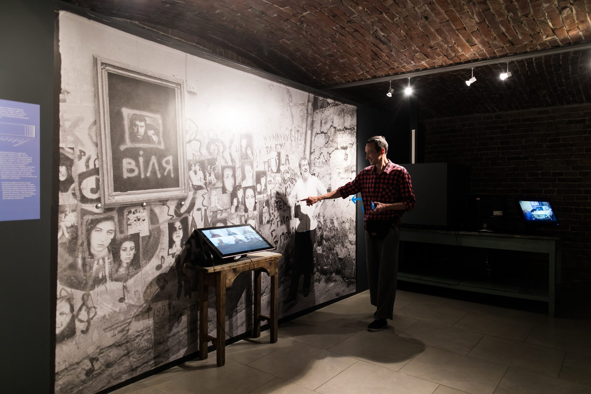 Екскурсія Влодка Костирка на виставці