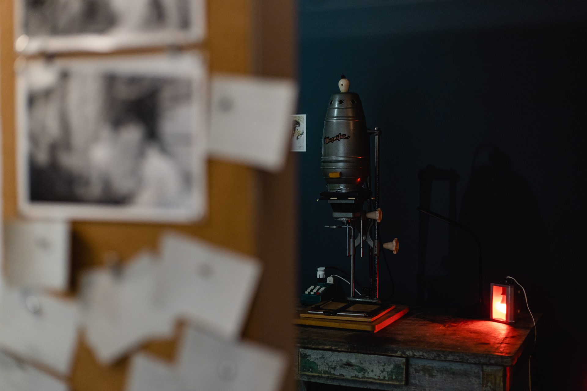 A Blue Dye of Frantsuzov. A Workshop in Analog Photography