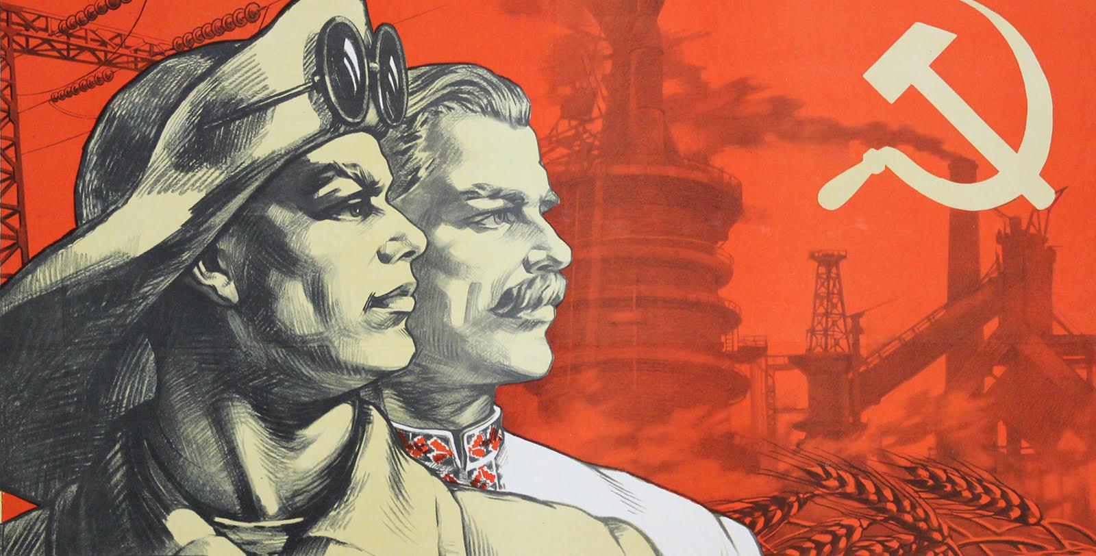 Чоловічі образи українців у плакаті УРСР 1945–1989 років