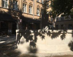 Відкриття відновленої площі та ознакування у історичній єврейській дільниці Львова